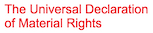 The Universal Declaration of Material Rights Logo